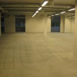Prepared concrete floor