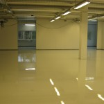 A Conductive Resin Floor