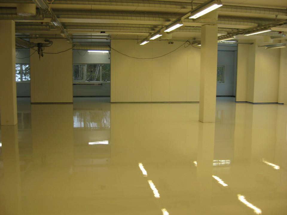 A Conductive Resin Floor